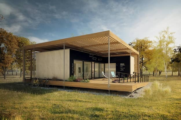 nizkoenergetický dom AIR House
