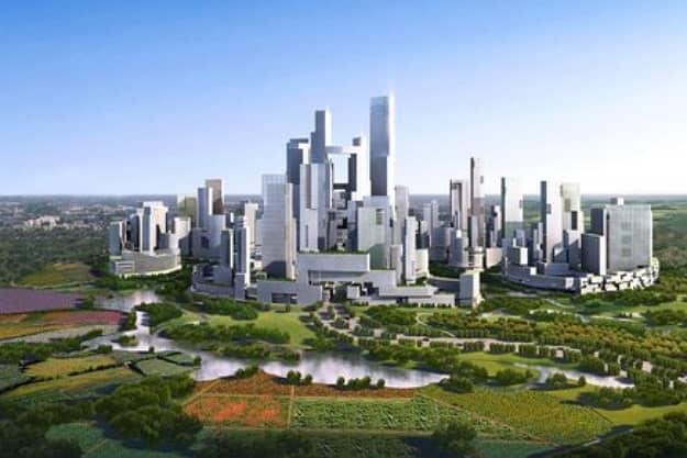 projekt eko-mesto Great City v Cine ASGG