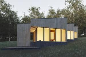 Paperhouse - projekt dizajnového domu si môžete stiahnuť z webu
