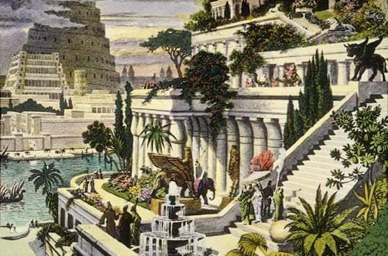 Semiramidine visute zahrady