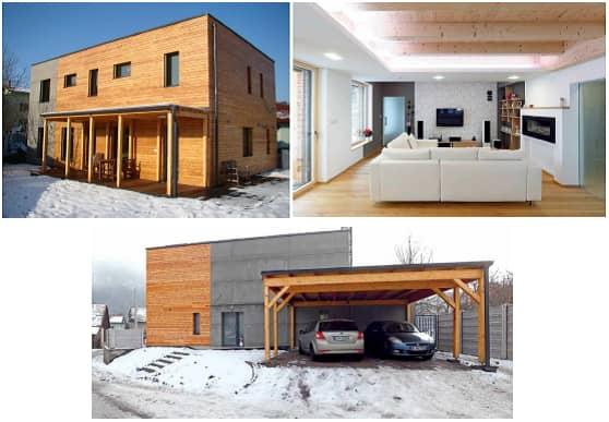 nulový dom architektonické riešenie