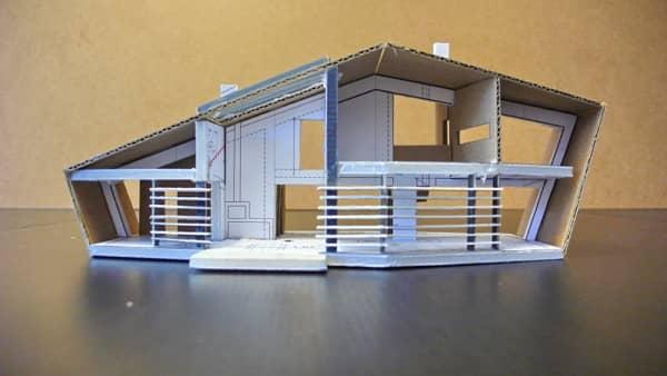 pasivny dom maketa pokorny architekti