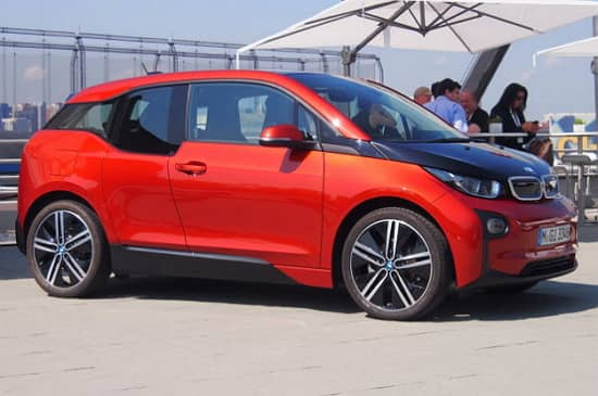 Víťaz súťaže World Car of the Year, elektromobil BMW i3