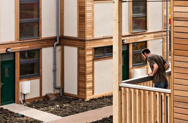 ekologický dom Lilac podporuje komunitné bývanie ekologicky zmýšľajúcich ľudí