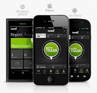 Mobilná aplikácia, s ktorou nelegálne skládky jednoducho lokalizujete, je dostupná pre všetky mobilné zariadenia.