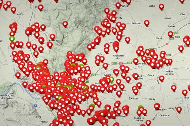 nelegálne skládky pomôže lokalizovať aplikácia trashout.me
