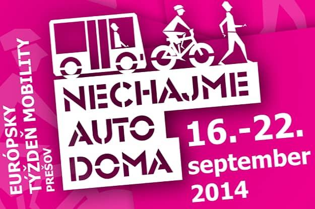 Európsky týždeň mobility 2014 v Prešove