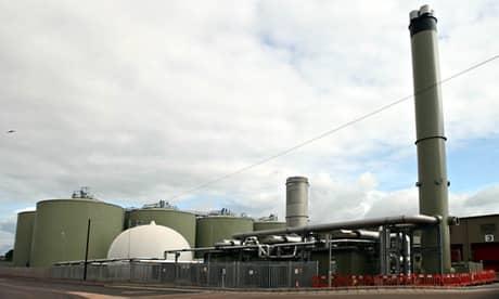 """Supermarket Sainsbury's v meste Cannock má svoju """"bioelektráreň""""."""
