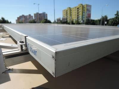 Solárna energia je hlavným zdrojom stánku s občerstvením.