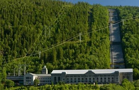 Dátové centrum - Green Mountain Data Centre, Rjukan