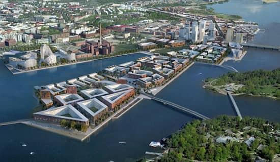 Helsinki sa budú môcť popýšiť aj novou inteligentnou mestskou štvrťou Kalasatama.