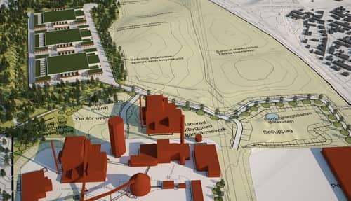 Ekologické dátové centrum EcoDataCenter bude napojené na energetický systém mesta Falun, zdroj: Schneider Electric