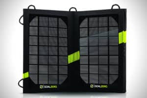 prenosná solárna nabíjačka
