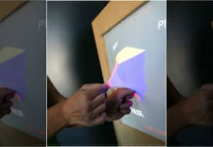 dotyková obrazovka