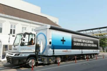 elektrický nákladný automobil