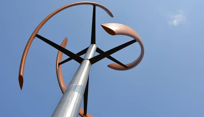 veterná energia turbína