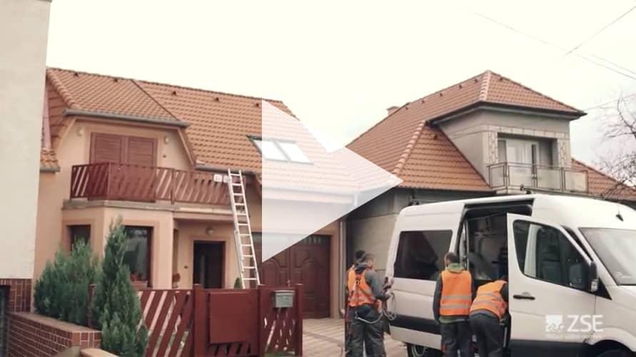 inštalácia fotovoltaických panelov