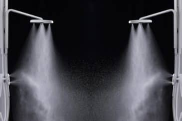 inteligentná sprchovacia hlavica