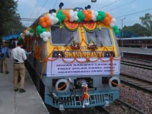 vlak na solárny pohon