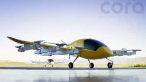 autonómne lietajúce taxi