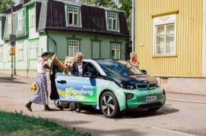 elektrické taxi