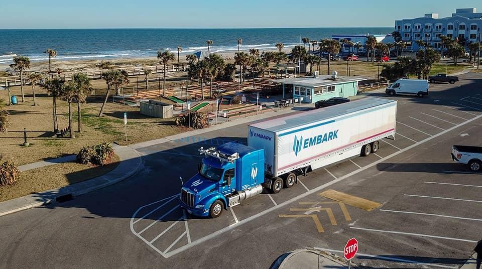 autonómne nákladné autá