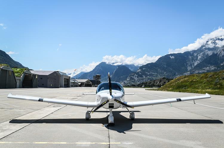 elektrické lietadlo