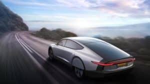 solárny elektromobil