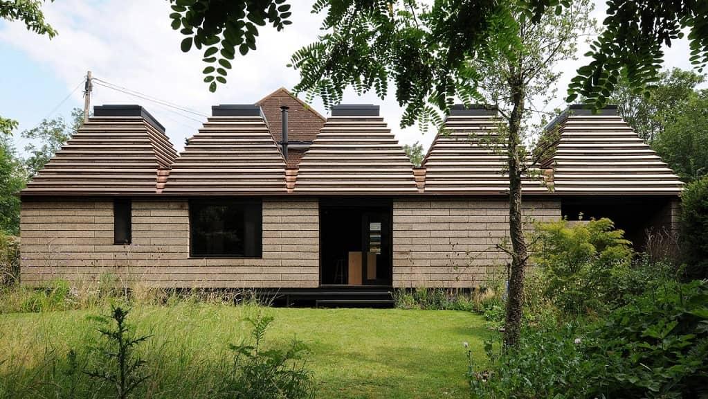 recyklovateľný dom