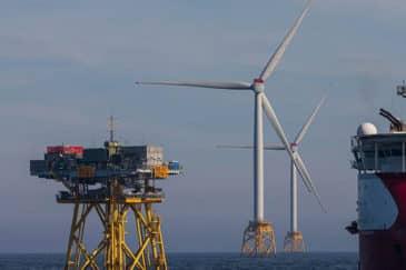 veterné turbíny